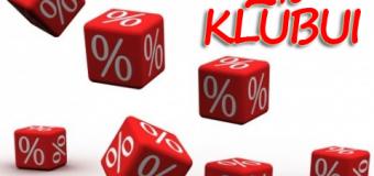 Skirkitie forumui ir klubui 2%
